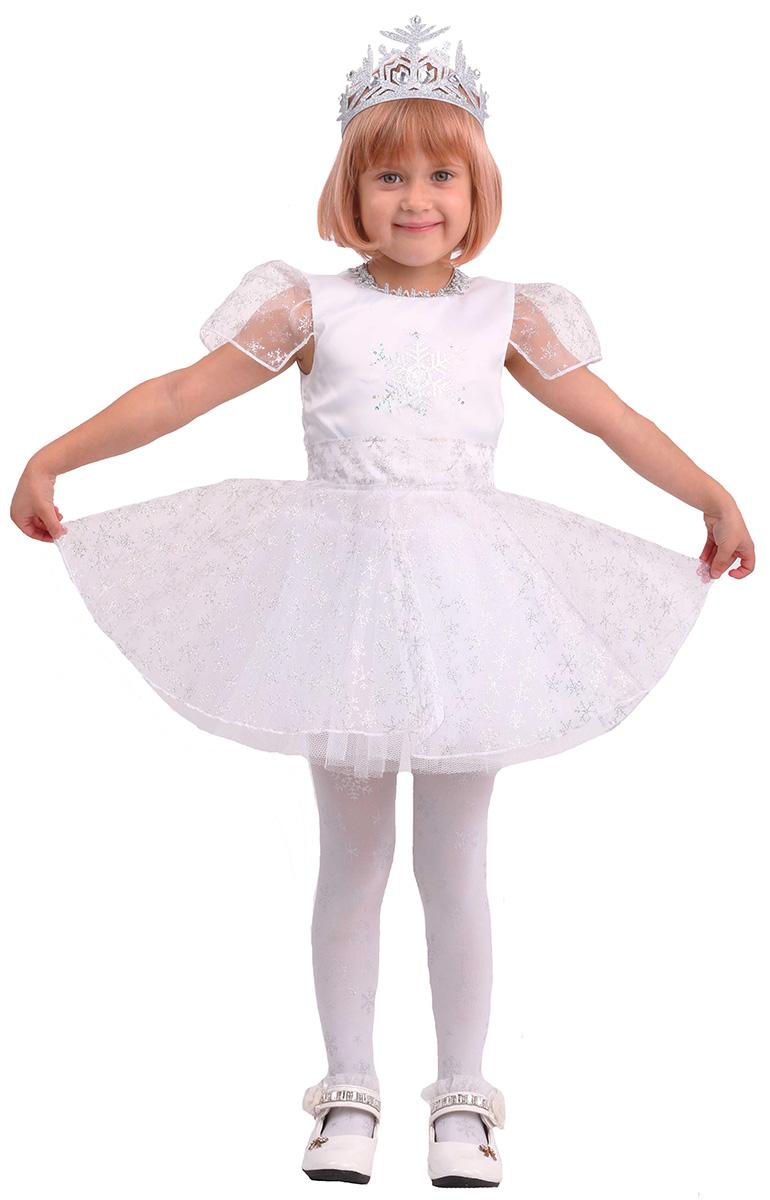 Платье снежинки для новогоднего утренника фото
