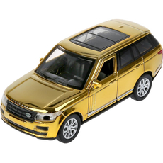 "Машина металл ""Range Rover Vogue хром"" 12см,  ""Технопарк"""
