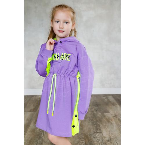 """Платье с капюшоном, 104-122 """"BY-GRI"""""""